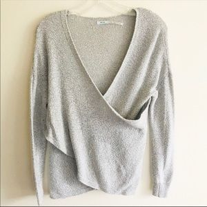 Kimchi Blue Urban Outfitters Criss Cross Sweater